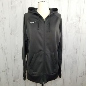 Nike • Dri-FIT Full-Zip Poly Fleece Hoodie • SZ L